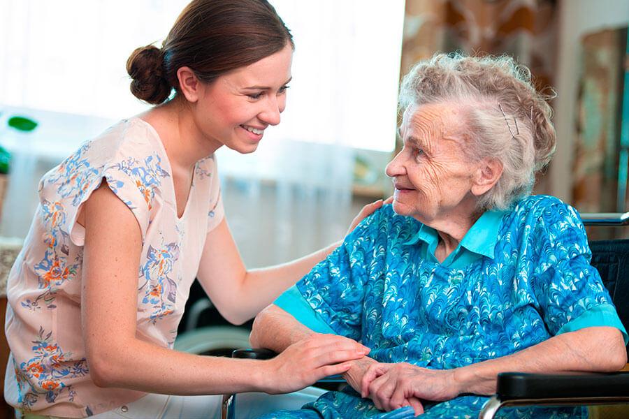Cuidar a una persona de movilidad reducida